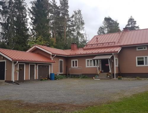 Kattoremontti kattoturvatuotteilla Seinäjoella