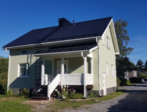 Uudet ikkunat, ovi ja kattoremontti Vaasassa